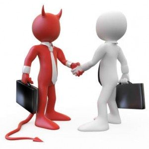 deal with the devil, small business deals