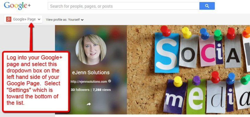 adding a manager on Google+