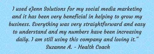 suzanne testimonial of ejenn Solutions