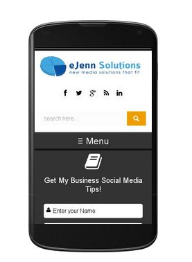 mobile friendly test site