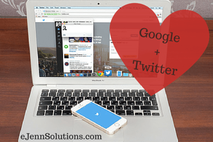 Google and Twitter come together