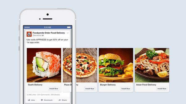 facebook food ads