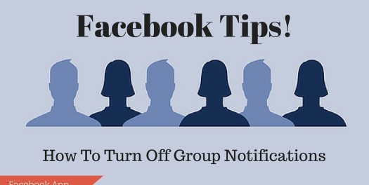 How To Stop Group Notifications on Facebook