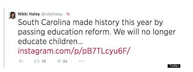 Screenshot by: Huffington Post and Twitter