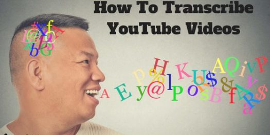 How To Transcribe Your YouTube Videos