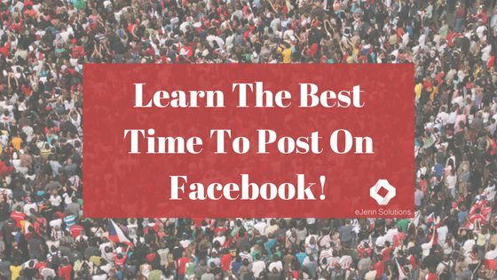 Best Time To Post on Facebook!