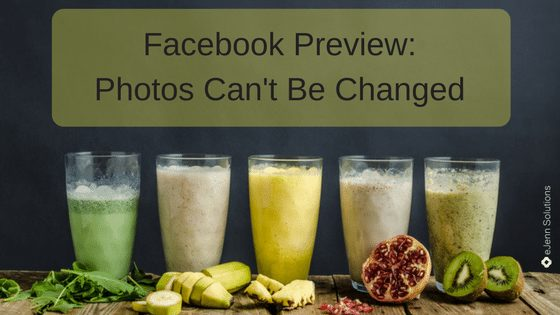 Facebook Addresses Fake News with Photo Change!